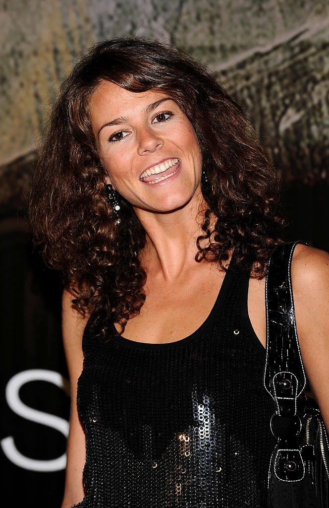 Isabel Aboy asiste al estreno europeo de Righteous Kill en el cine Kinepolis el 13 de septiembre de 2008 en Madrid, España.   Foto: Getty Images