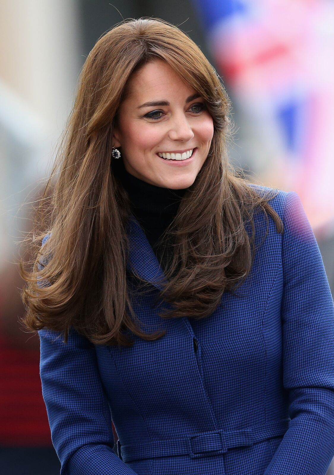 Kate Middleton avec un joli sourire | Photo : Getty Omages