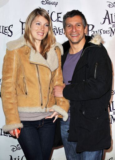 La photo de Nagui et sa femme Mélanie | Source: Getty Images / Global Ukraine