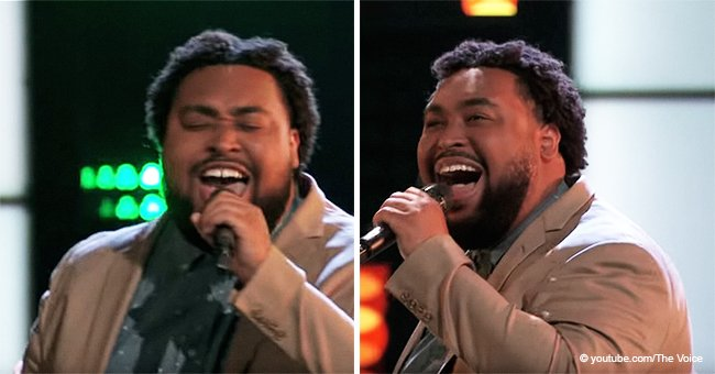 Matthew Johnson's Powerful Rendition of Gospel Song 'I Smile' Turns All 4 Chairs on 'The Voice'