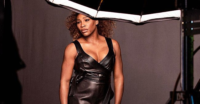 Check Out Serena Williams' Enviable Curves in a Leather Dress as She Flaunts Her Strong Legs
