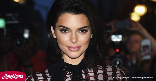Kendall Jenner was spotted partying hard in pink mini-dress with friends at Cannes