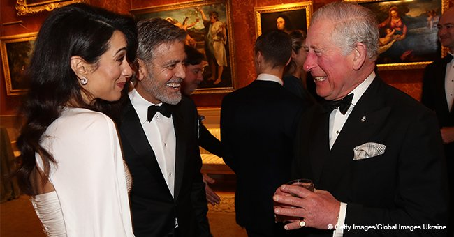 Amal and George Clooney Mesmerize Prince Charles at Buckingham Palace Dinner