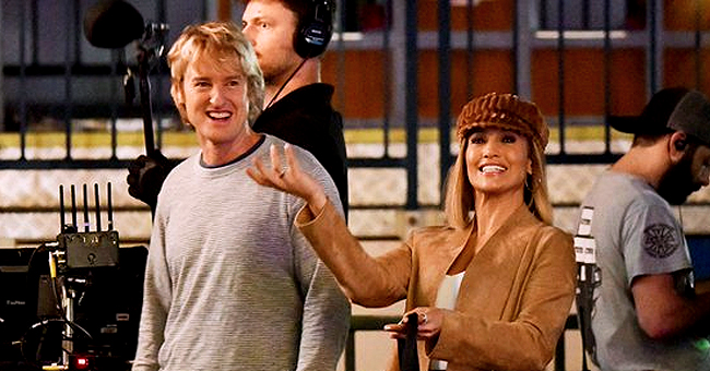 Jennifer Lopez Spotted Getting Close to 'Anaconda' Co-Star Owen Wilson While Filming 'Marry Me'