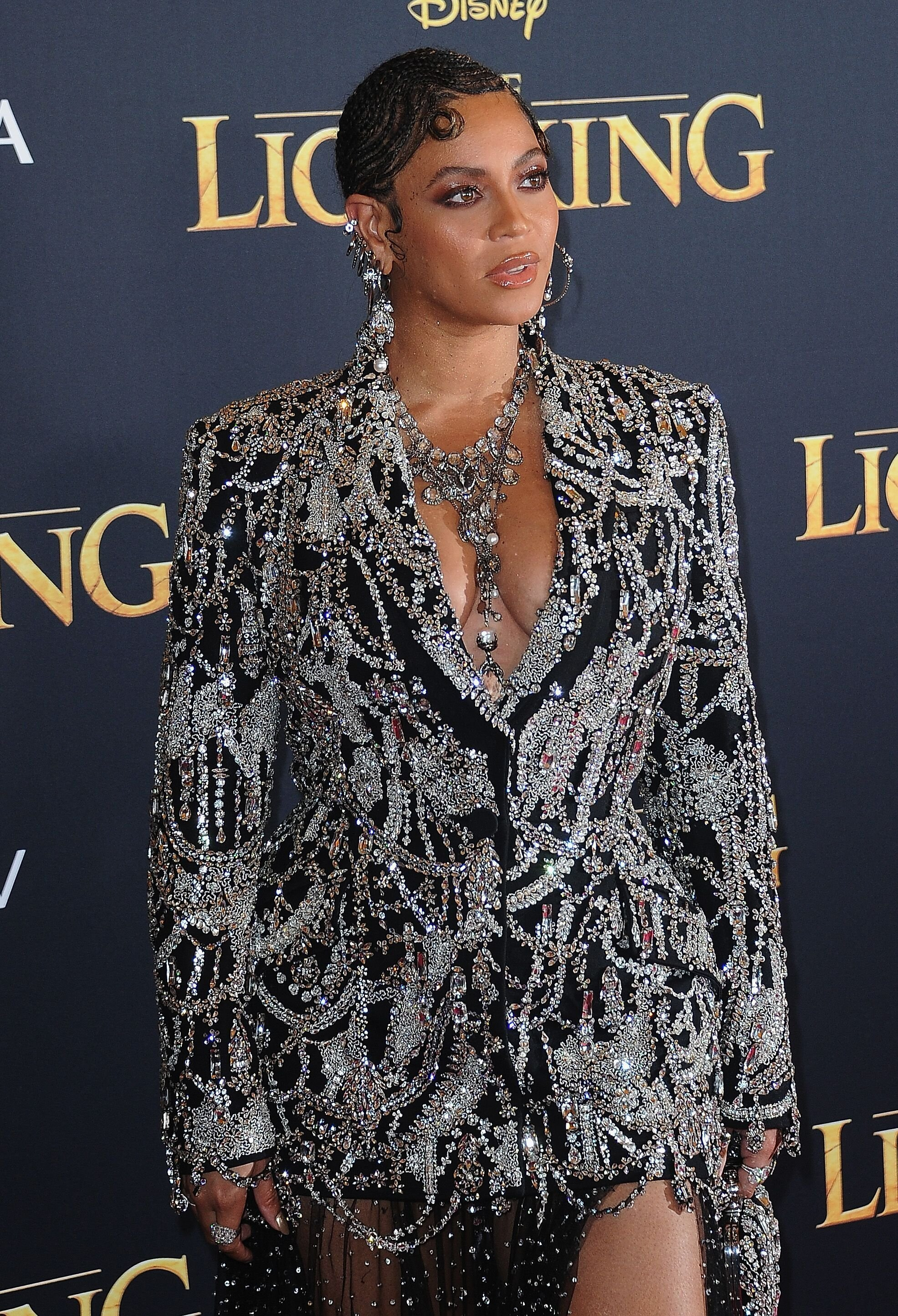 "Beyonce attends the ""Lion King"" premiere 