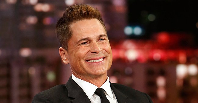 See Rob Lowe's Youthful Looks in This Throwback Photo He Posted in Honor of His 57th Birthday