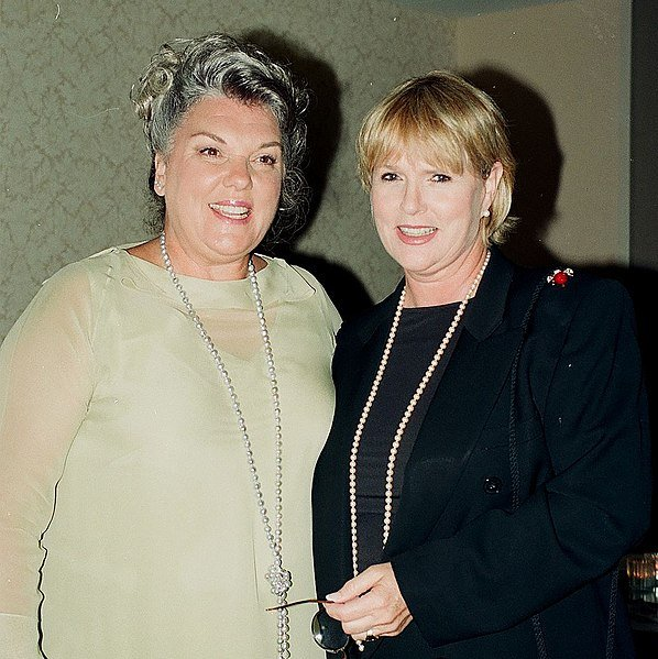 Sharon Gless and Tyne Daly, 2019. | Source: Wikimedia Commons