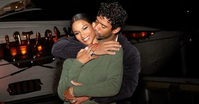 Ciara's Husband Russell Wilson Shares Snap of Their Little Man Win Smiling in a Striped Onesie