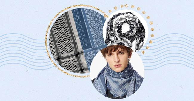 Luxury Fashion Brand Louis Vuitton Faces Backlash For Cultural Appropriation After Releasing Keffiyeh Stole