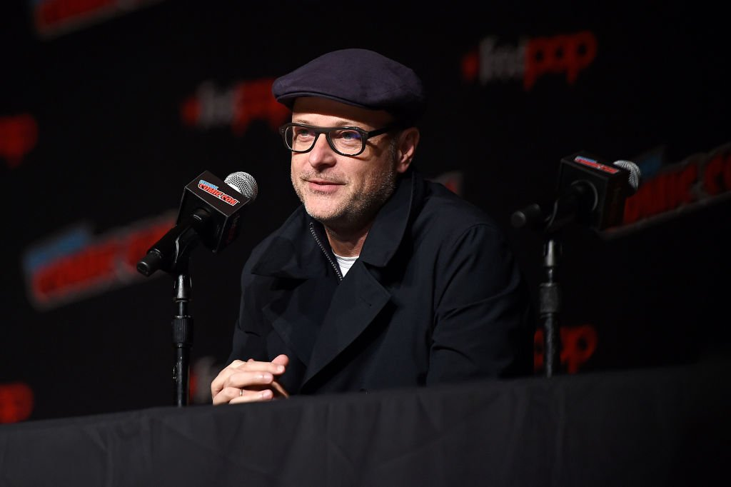 "Matthew Vaughn participe au New York Comic Con en soutien à ""The King's Man"" au Jacob K. Javits Convention Center le 3 octobre 2019 à New York. 