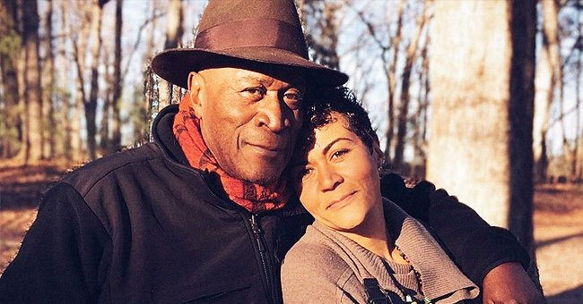 John Amos and his daughter Shannon Amos. | Photo: Instagram.com/officialshannonamos