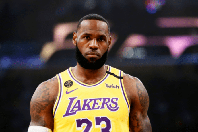 LeBron James of the Los Angeles Lakers during a game against the Brooklyn Nets at the Staples Center on March 10, 2020 | Photo: Getty Images