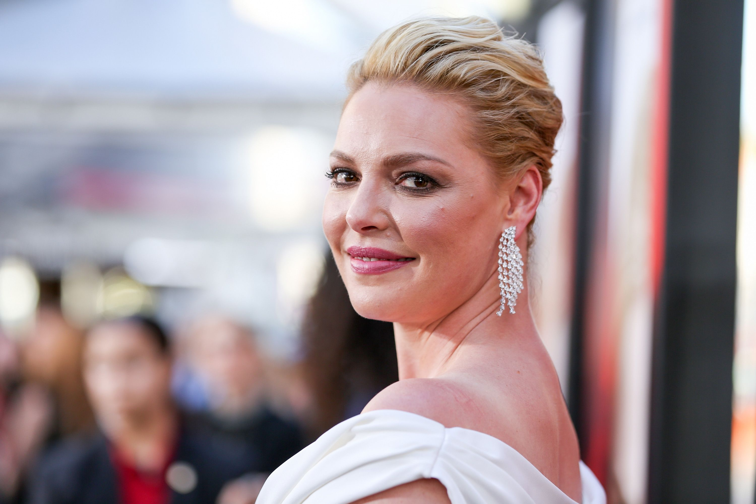 """Katherine Heigl at the premiere of Warner Bros. Pictures' """"Unforgettable"""" on April 18, 2017, in Hollywood, California 