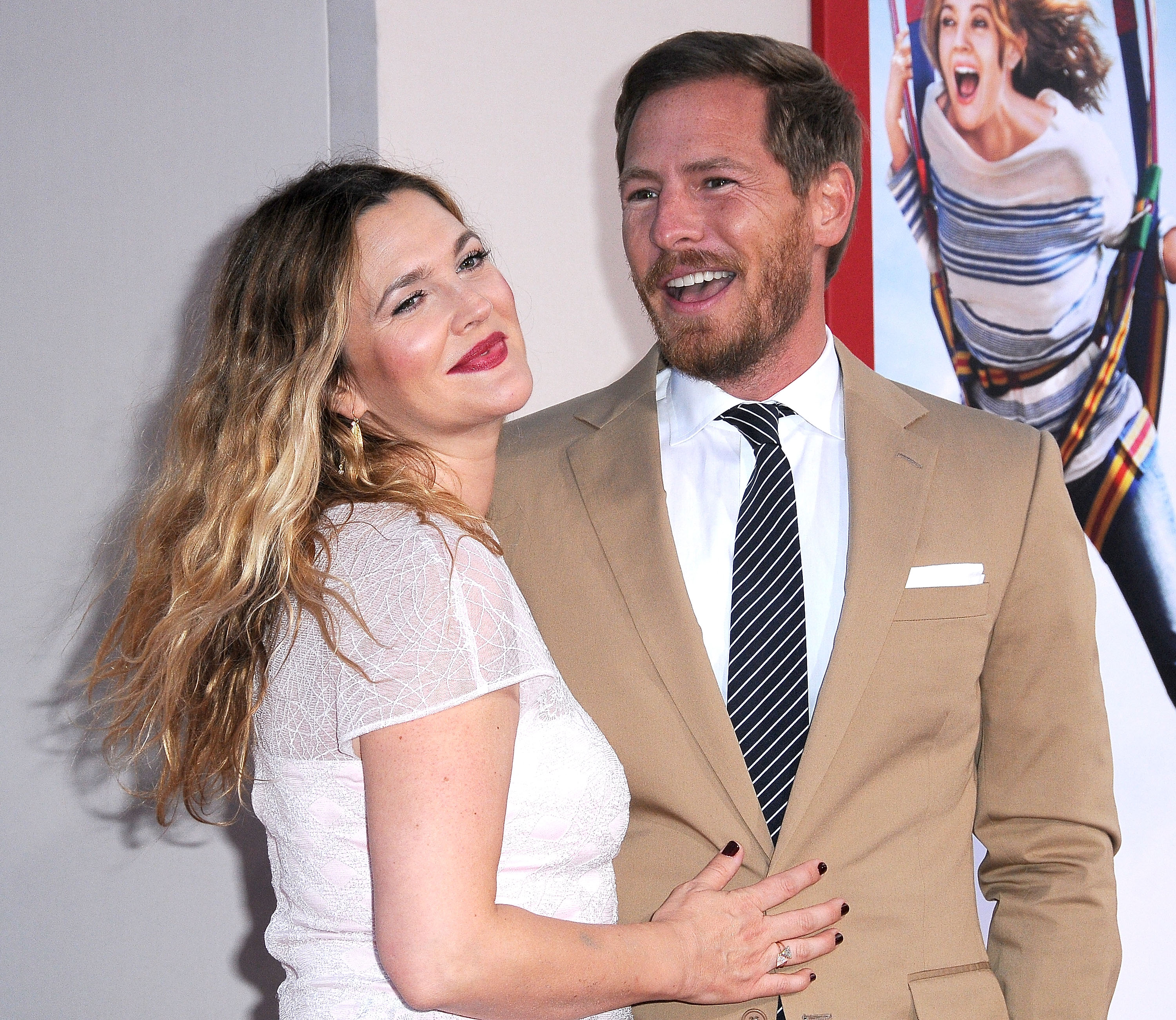 """Drew Barrymore and Will Kopelman at the LA premiere of """"Blended"""", 2014 