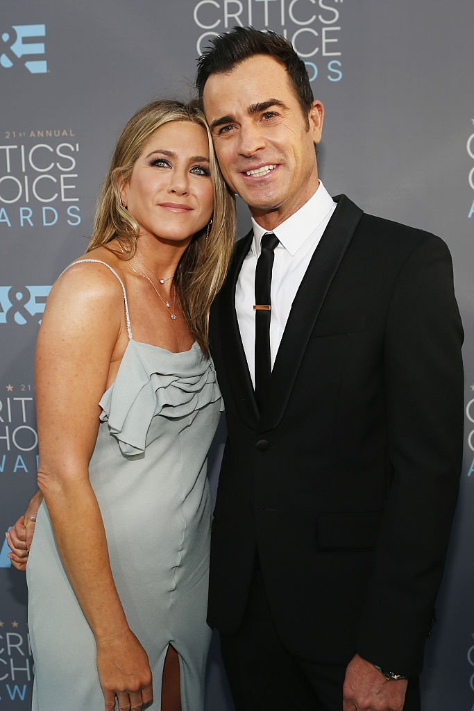 Actors Jennifer Aniston and Justin Theroux attend the 21st Annual Critics' Choice Awards in 2016. | Source: Getty Images