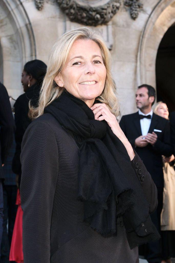 Claire Chazal au gala du 350e anniversaire de l'opéra garnier | Getty Images
