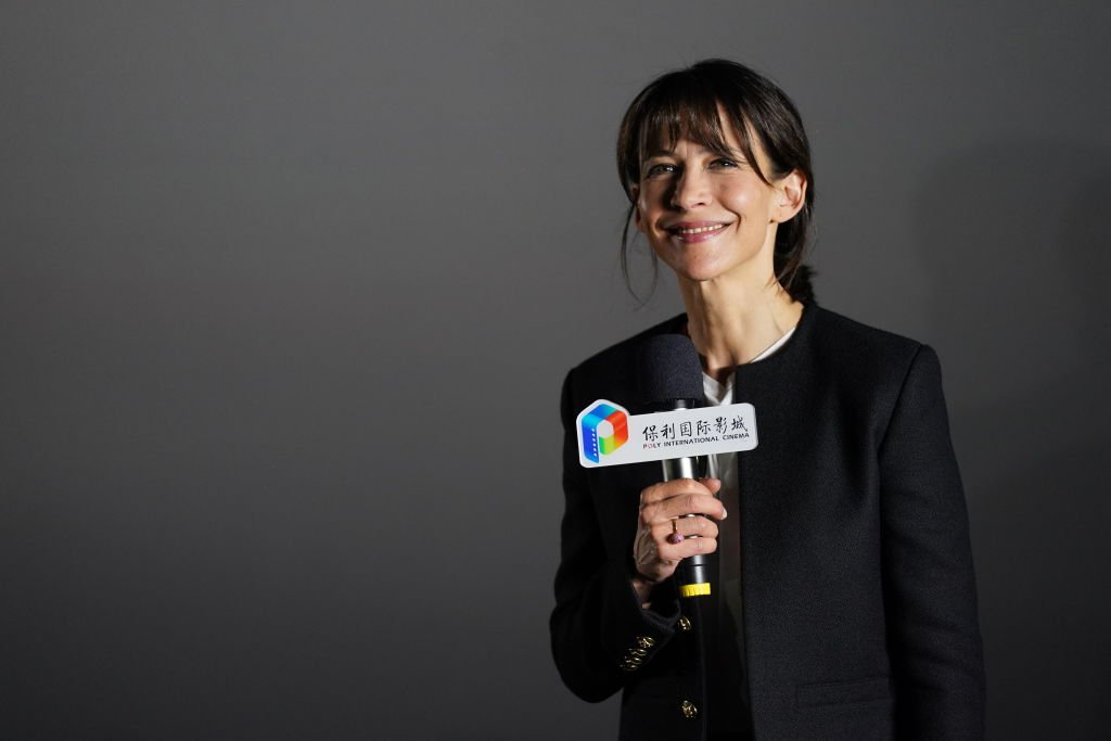 Sophie Marceau à Pekin en Chine | Photo : Getty Images.