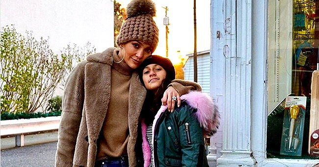 Jennifer Lopez's Daughter Emme Meets Billy Eilish for the First Time and the Trio Shares a Bear Hug