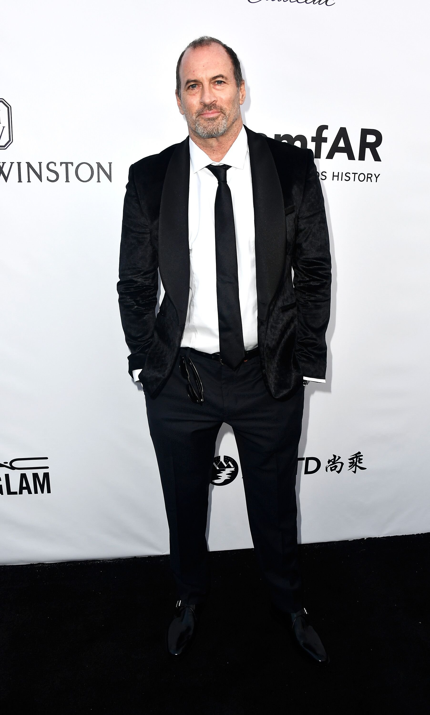 Scott Patterson attends the amfAR Gala at Ron Burkle's Green Acres Estate. | Source: Getty Images