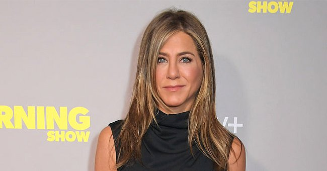 """Jennifer Aniston at a special screening of Apple's """"The Morning Show"""" at The Ham Yard Hotel in London, England 