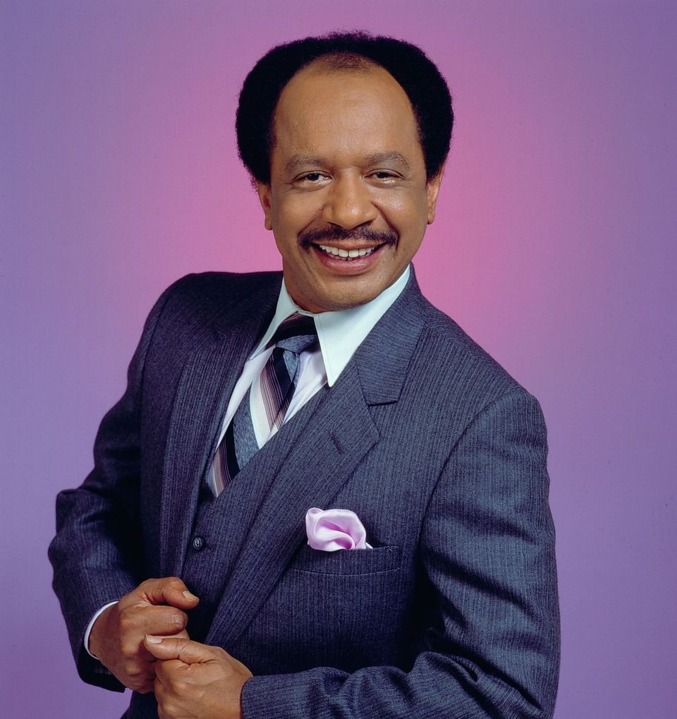 """Sherman Hemsley (as George Jefferson), from the CBS situation comedy, """"The Jeffersons."""" 
