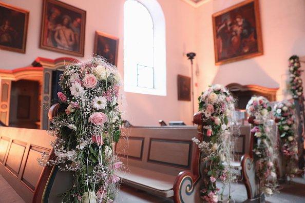 Hochzeitsvorbereitungen von Daniela Katzenberger und Lucas Cordalis, 2016, Bonn | Quelle: Getty Images