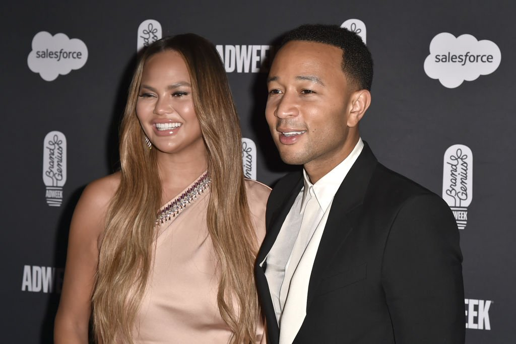Chrissy Teigen and John Legend attend The 2019 Brandweek Brand Genius Awards Gala | Photo: Getty Images