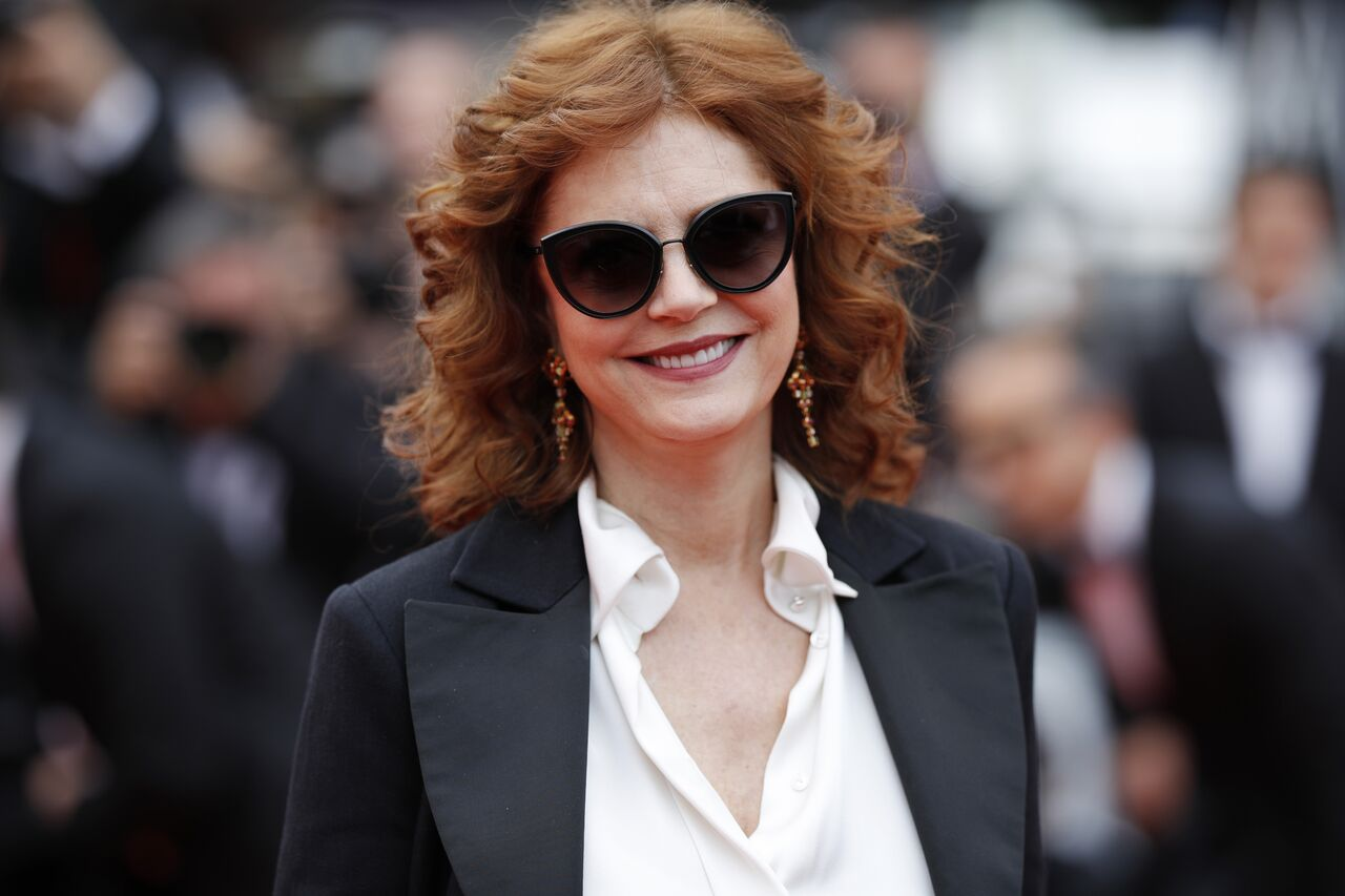 "Susan Sarandon attends the ""Loveless (Nelyubov)"" screening during the 70th annual Cannes Film Festival. 