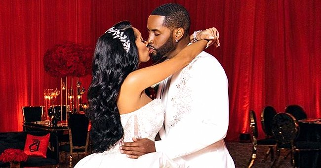 Safaree and Erica Mena Celebrate Their 1st Wedding Anniversary with a Sweet Throwback Photo