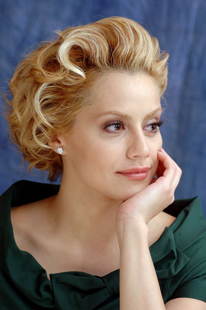 """Brittany Murphy during """"Happy Feet"""" Press Conference in Beverly Hills   Photo: Getty Images"""