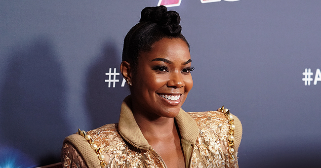 Gabrielle Union's Daughter Kaavia Wears Hilarious Expression While in White Outfit after AGT Finale