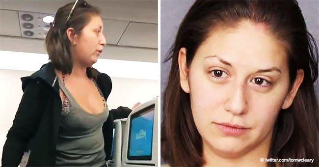 """Mujer ebria en avión le escupe a un pasajero porque """"ella no quiere sentarse junto a una niña"""""""