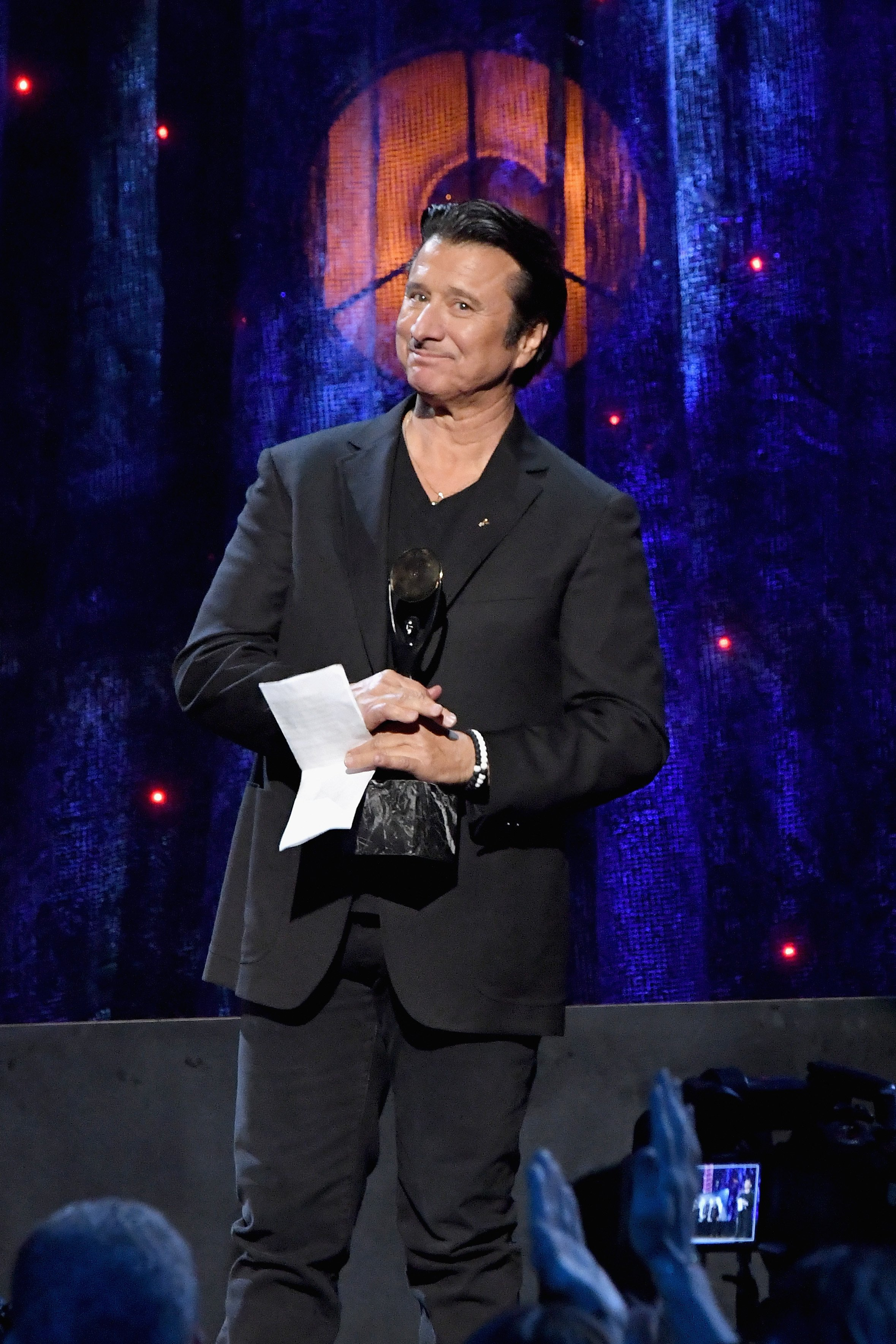 Steve Perry bei der Rock & Roll Hall Of Fame Induction Zeremonie, 2017 | Quelle: Getty Images