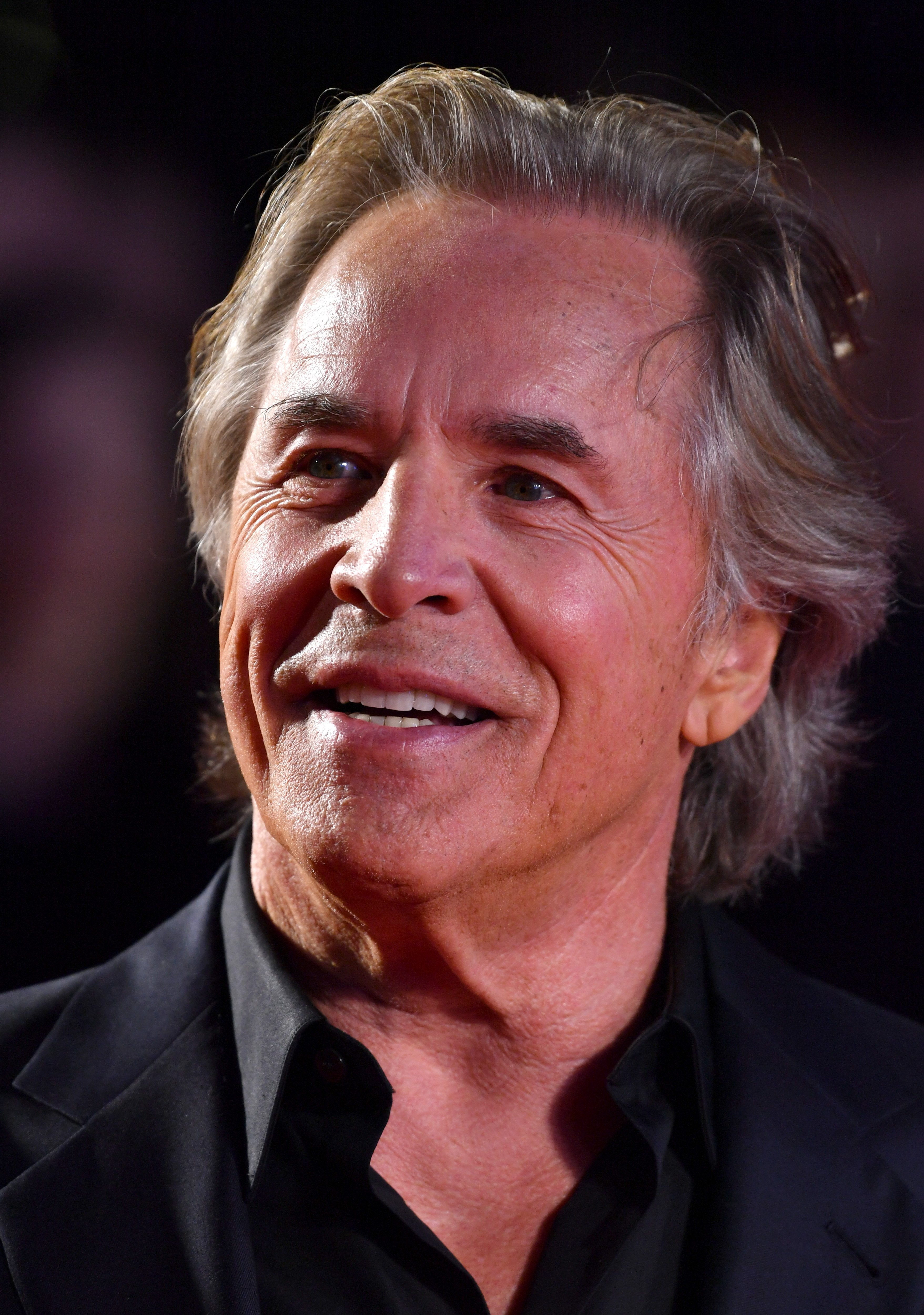 """Don Johnson at the """"Knives Out"""" European Premiere at the Odeon Luxe Leicester Square 