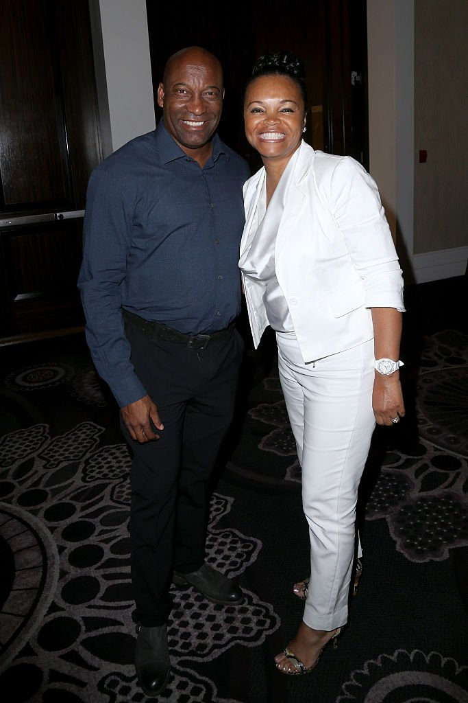Filmmaker John Singleton and actress Akosua Busia attend the 32nd annual Television Critics Association Awards on August 6, 2016 in Beverly Hills, California. | Photo: Getty Images