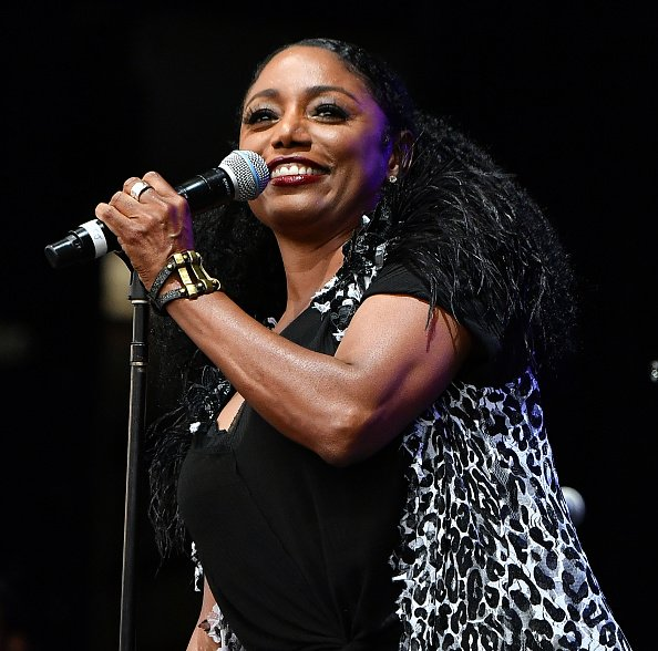 "Karyn White performs onstage during the Tom Joyner ""One More Time Experience"" on August 03, 2019 