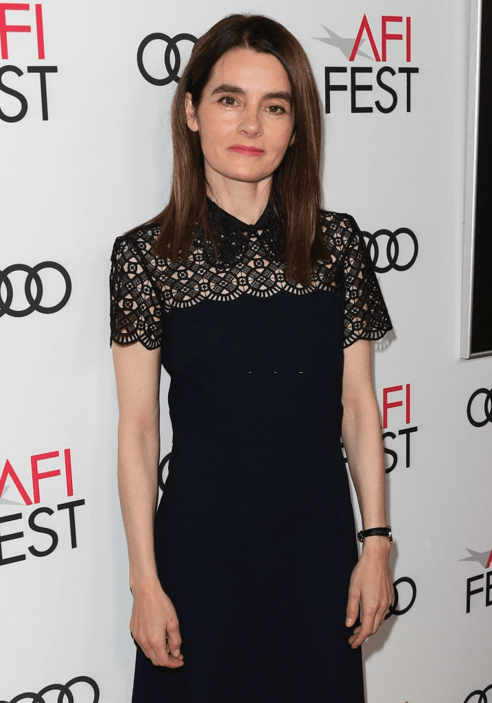 "HOLLYWOOD, CALIFORNIE - 14 NOVEMBRE : L'actrice Shirley Henderson assiste à la projection spéciale de ""Stan & Ollie"" lors de l'AFI FEST 2018 au Egyptian Theatre le 14 novembre 2018 à Hollywood, Californie. 