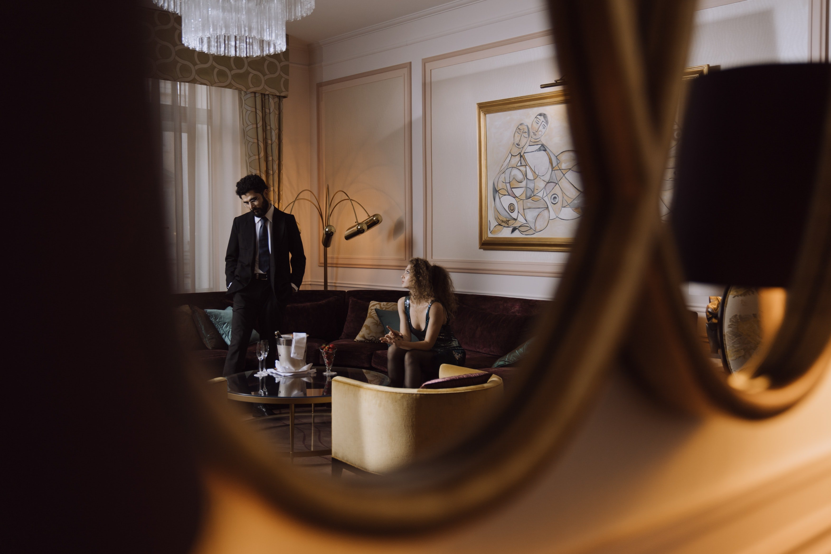 Karen thought about their first night in the hotel   Source: Pexels