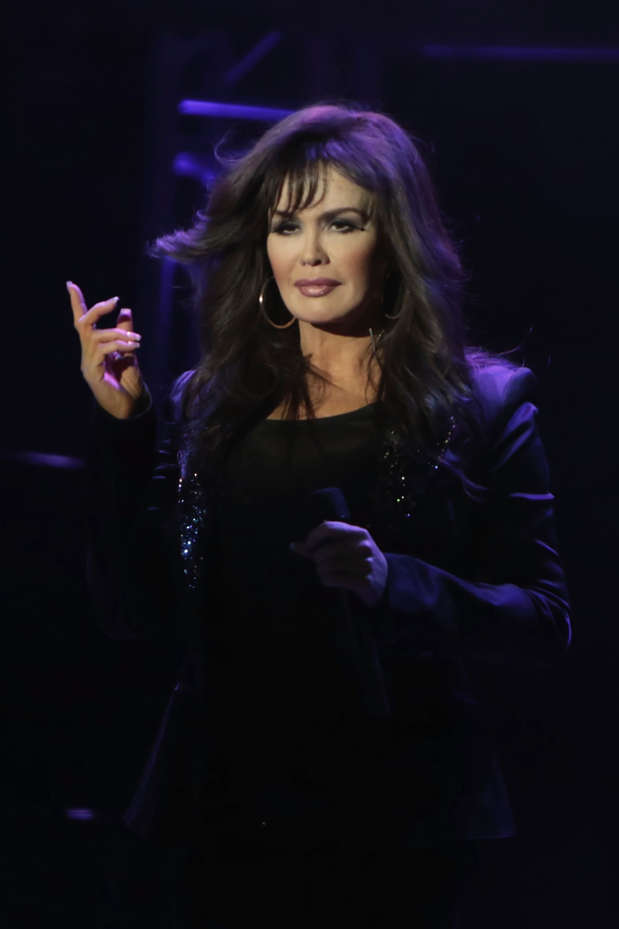 Marie Osmond performs at Borgata Hotel Casino & Spa on March 13, 2015 in Atlantic City, New Jersey| Photo: Donald Kravitz/Getty Images