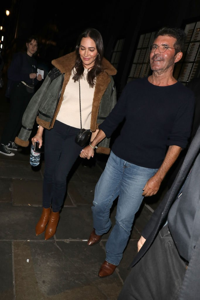 Simon Cowell and Lauren Silverman seen leaving Britain's Got Talent auditions at Palladium Theatre on January 20, 2020 | Photo: Getty Images