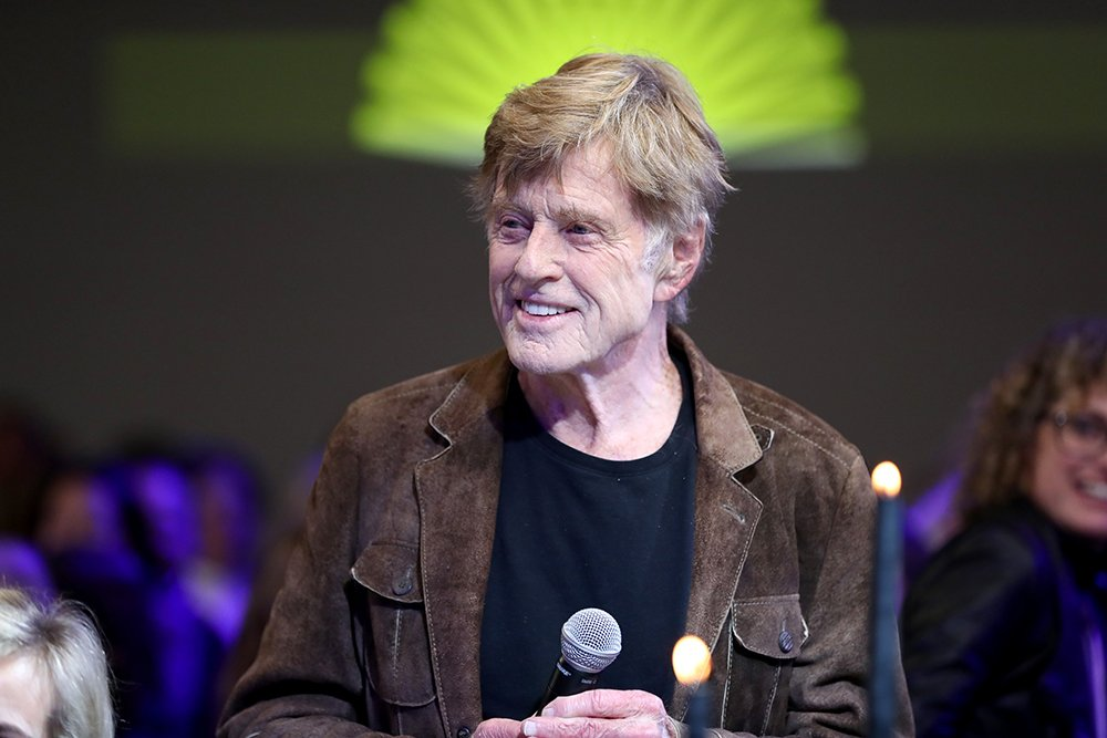 Robert Redford at the 2020 Sundance Film Festival in Park City, Utah, in January 2020    Photo: Getty Images.