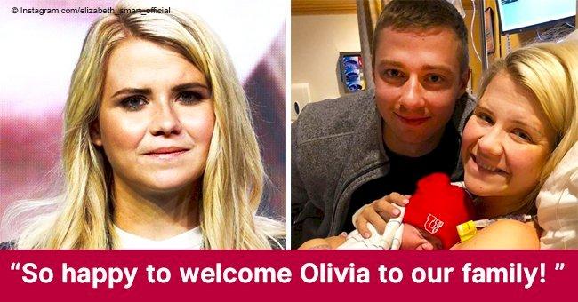 Elizabeth Smart welcomes a third child and reveals newborn daughter's first photo