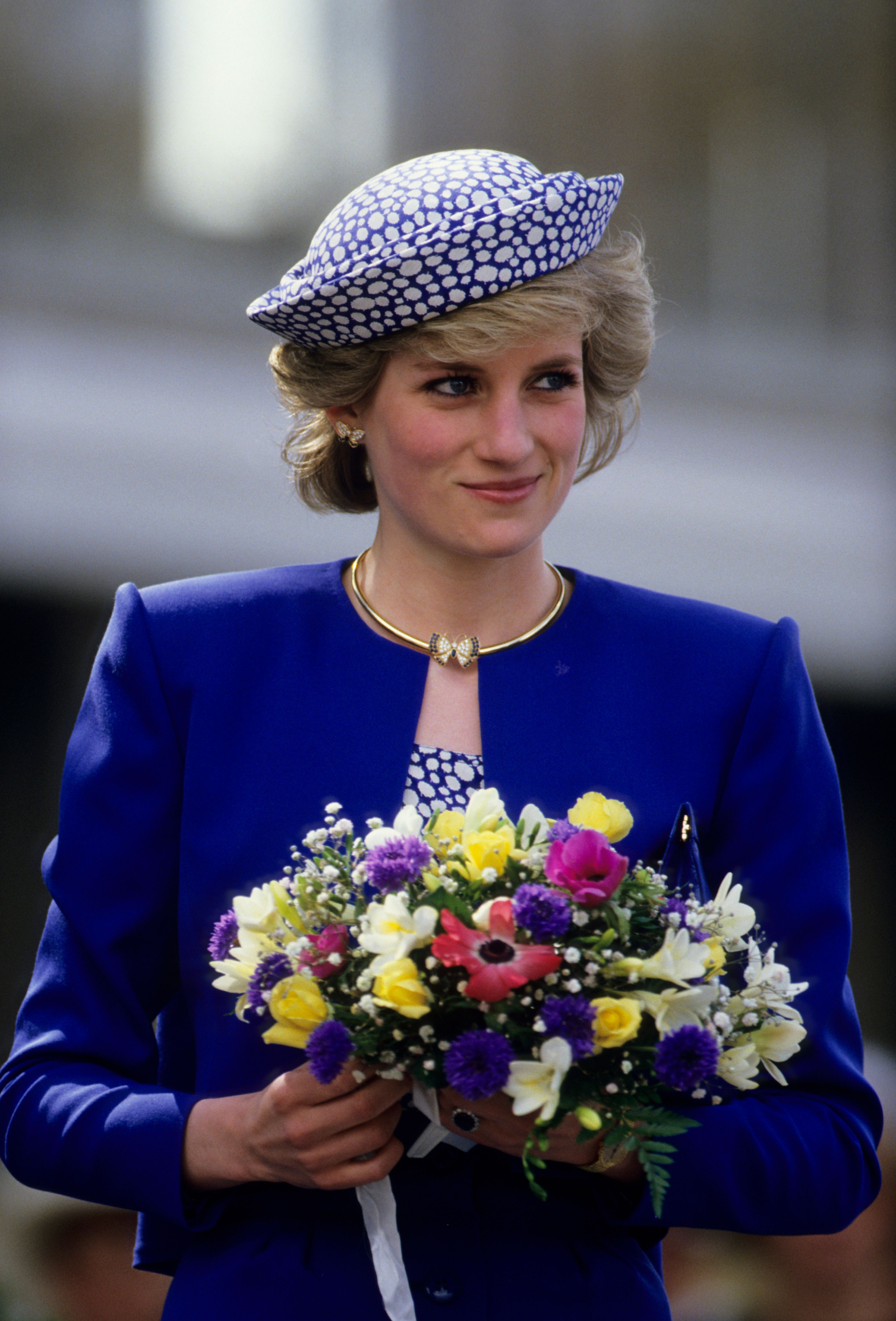 Princess Diana during a trip to Canada on May 3, 1986   Photo: Georges De Keerle/Getty Images