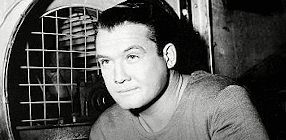 """George Reeves, who once starred in theSuperman"""" film, ina still from a mini-documentary about his life on July 16, 2021 