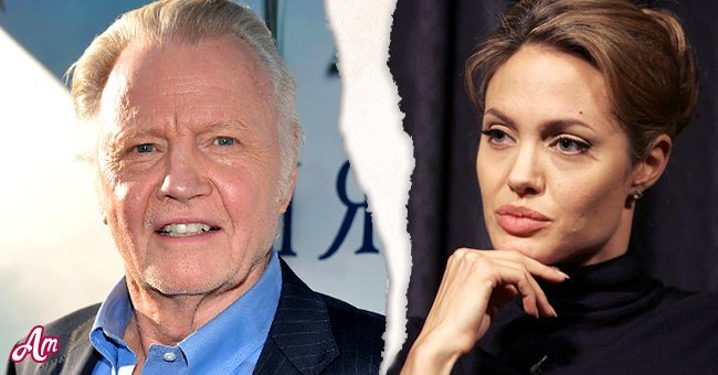 Jon Voight (Left) and his daughter Angelina Jolie (Right) | Photo: Getty Images