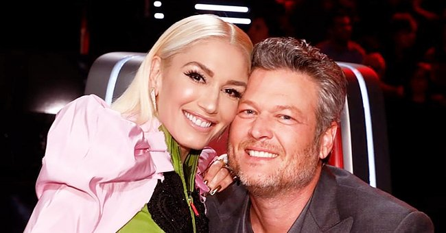 Gwen Stefani Looks Stunning in Dalmatian-Print Minidress in New Photo of 'The Voice' Coaches