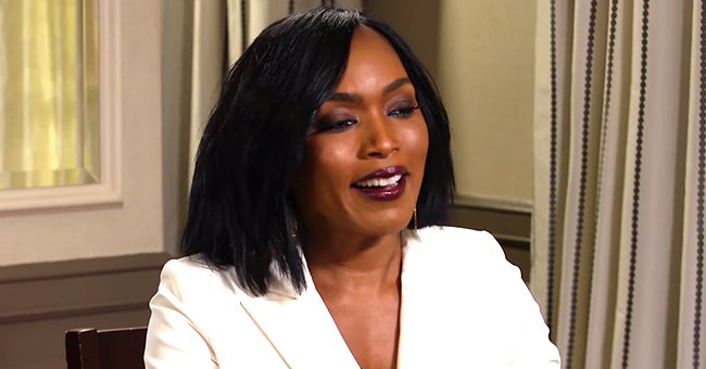 Angela Bassett Pays Tribute to Tina Turner as She Rocks a Sweater with the Singer's Face on It