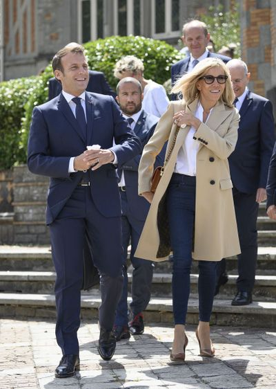 Brigitte Macron et son époux | Photo : Getty Image