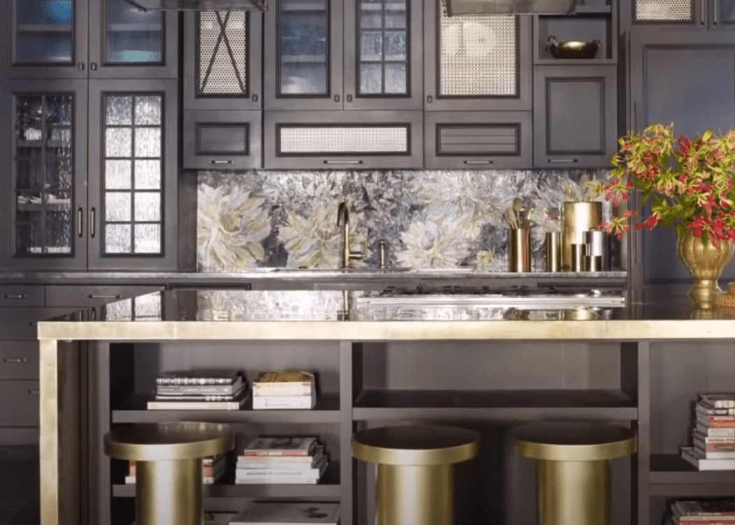 The kitchen   Source: YouTube/ Architectural Digest