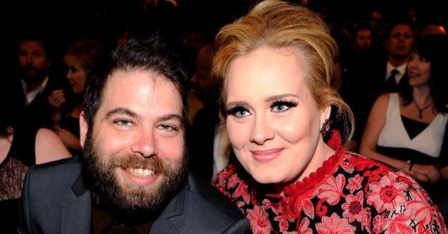 Adele and Simon Konecki at the 55th Annual Grammy Awards at STAPLES Center in Los Angeles, California | Photo: by Kevin Mazur/WireImage via Getty Images